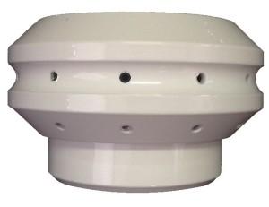 UFO on white