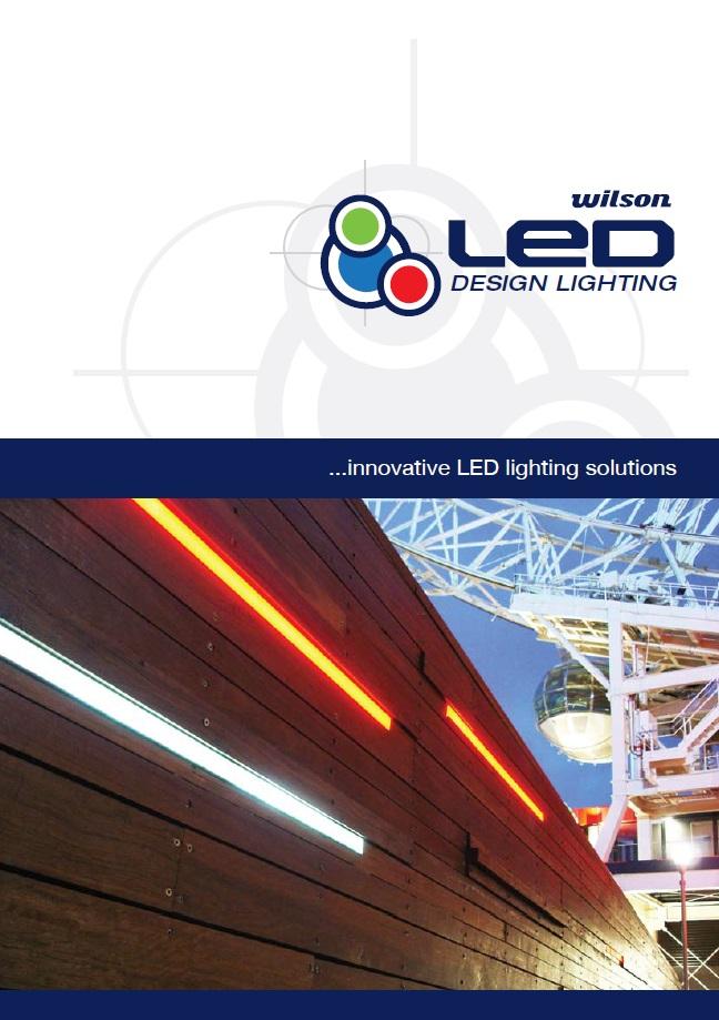 Wilson LED stripe lighting Brochure Image  | LED Brochures