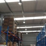 Highbay Lighting in a Factory